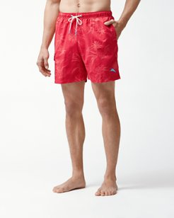 Naples Huli Pineapple 6-Inch Swim Trunks