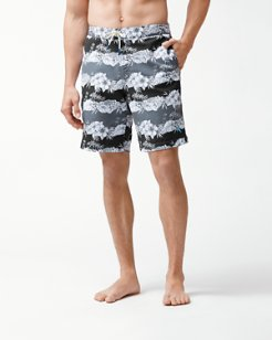 Baja Sky Vines 9-Inch Board Shorts