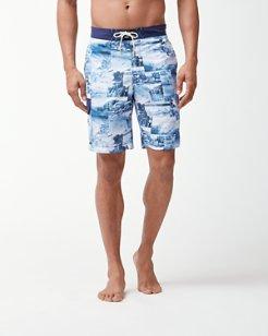 Baja Coast Busters 9-Inch Board Shorts