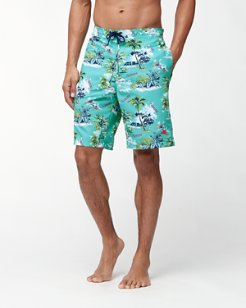 Baja Destination Florida 9-Inch Board Shorts