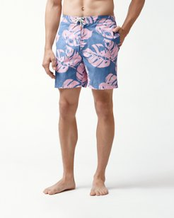 Baja Leaf In The Sun 7-Inch Board Shorts