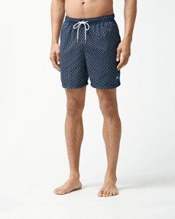 Naples A-Fish-Ionado 6-Inch Swim Trunks