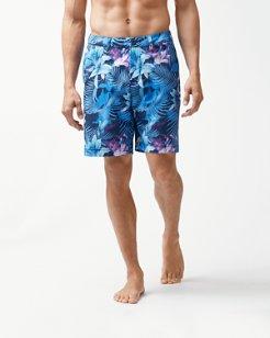Cayman Laredo Blooms 9-Inch Hybrid Board Shorts