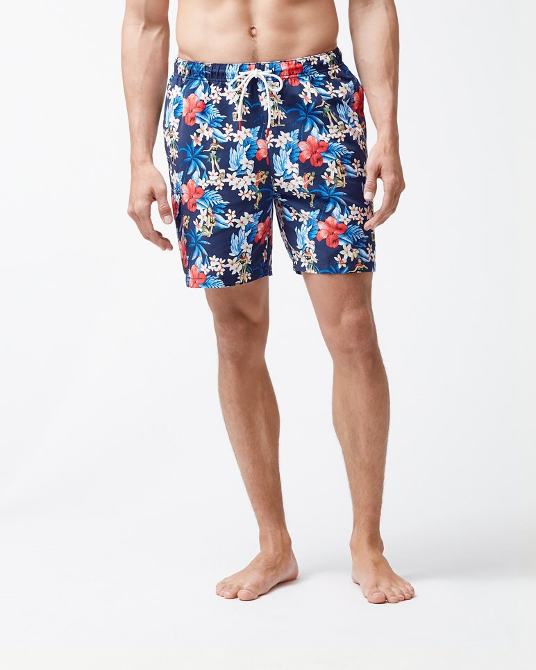 Main Image for Naples Hula Holiday 6-Inch Swim Trunks