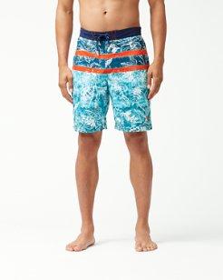 Baja Bajamar Batik 9-Inch Board Shorts