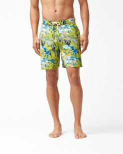 Baja Don't Leaf Me Now 7-Inch Board Shorts