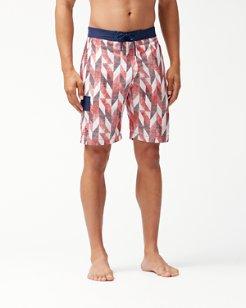 Baja Geo Celeste 9-Inch Board Shorts