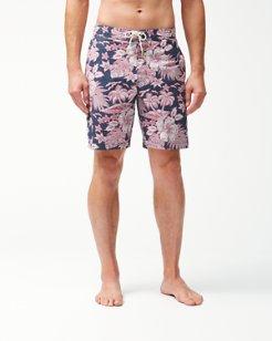Baja Beach Batik 9-Inch Board Shorts