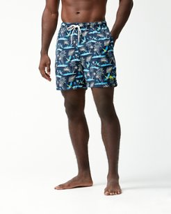 Naples Isle Of Palms 6-Inch Swim Trunks