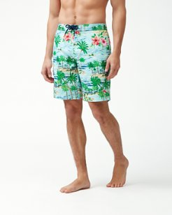 Baja Aloha Surf 9-Inch Board Shorts