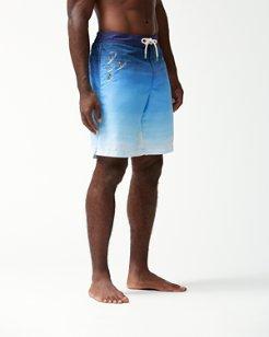 Baja Hula-Gals 9-Inch Board Shorts