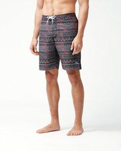 Baja Bora Bora Batik 9-Inch Board Shorts