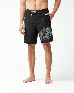 Baja Marlin Hideaway 9-Inch Board Shorts