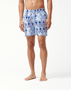 Naples Bay Diamond Tide 4.5-Inch Swim Trunks