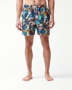 Naples Zocca Fronds 6-Inch Swim Trunks