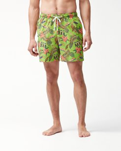 Naples Cabana Club 6-Inch Swim Trunks