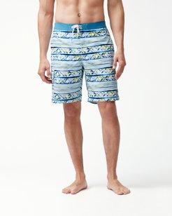 Baja Cecina Stripe 9-Inch Board Shorts