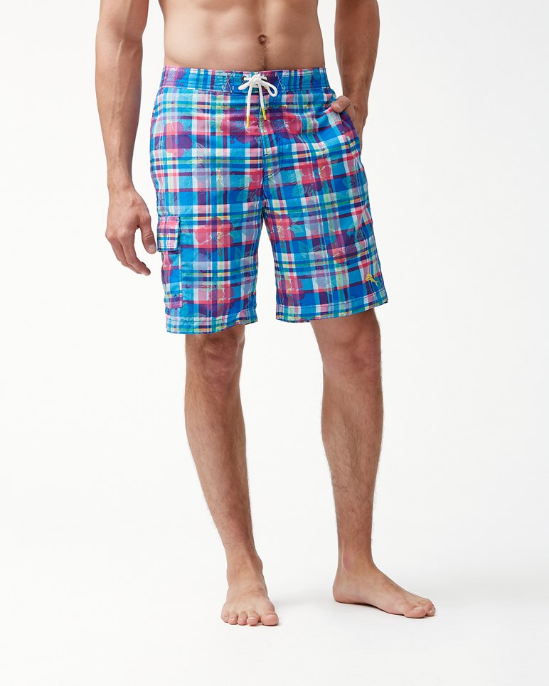 217478a10c Main Image for Baja Pastino Plaid 9-Inch Board Shorts