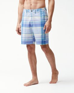Cayman Mulina Madras 9-Inch Board Shorts
