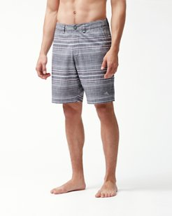 Cayman Sarizana Stripe 9-Inch Board Shorts
