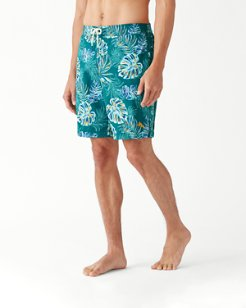 Baja Canyon Leaves 9-Inch Board Shorts