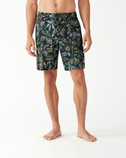 Cayman Canopy Fronds IslandActive® 9-Inch Board Shorts