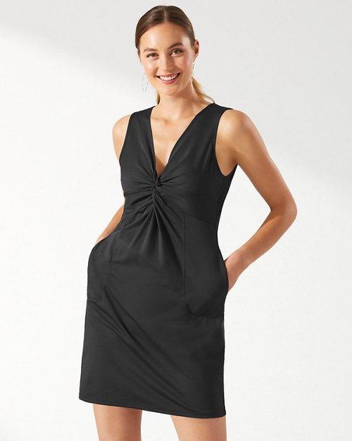 Pearl Twist Front Dress