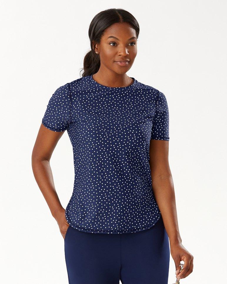Main Image for IslandActive® Sea Spray Dots T-Shirt