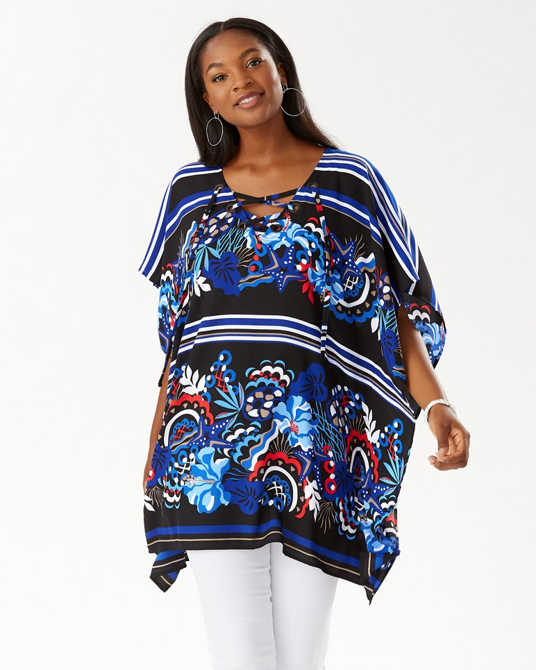 Main Image for Salvation Sea Lace-Up Tunic