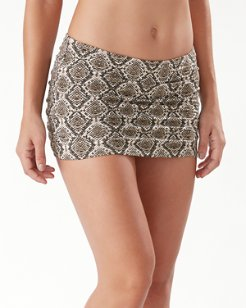 Desert Python Skirted Hipster Bikini Bottoms