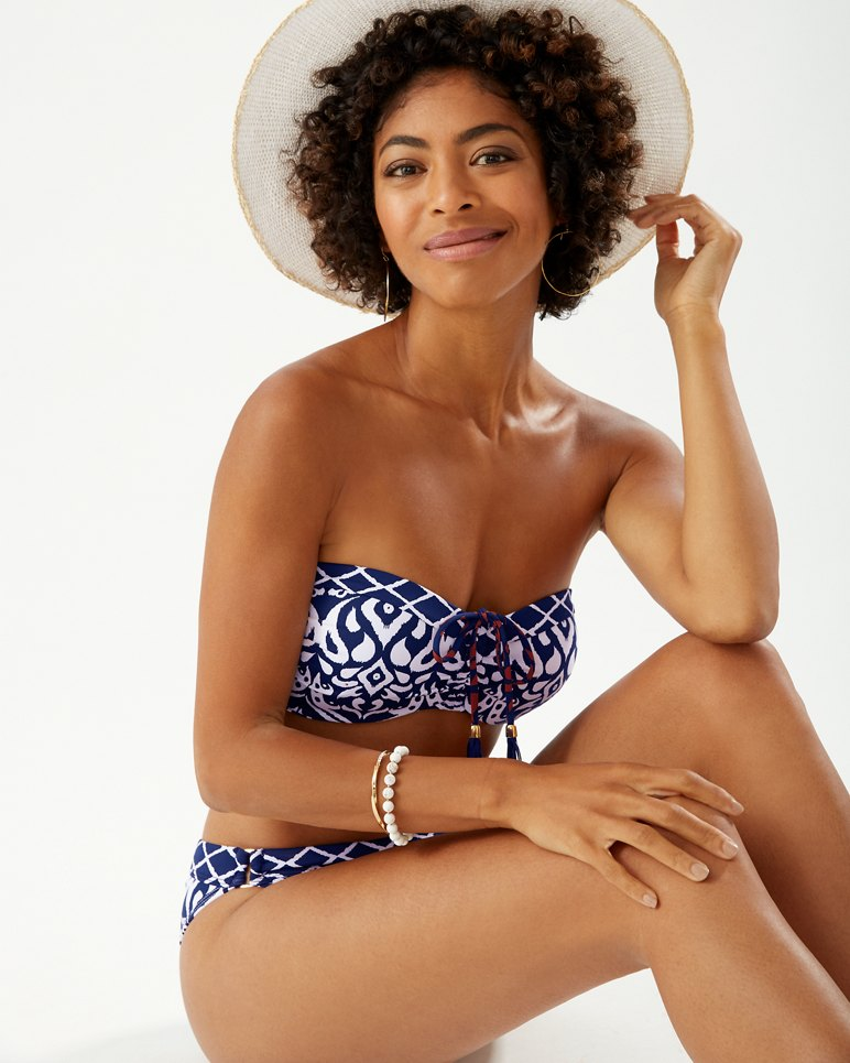 Main Image for Ikat Diamonds Bandeau Bikini Top
