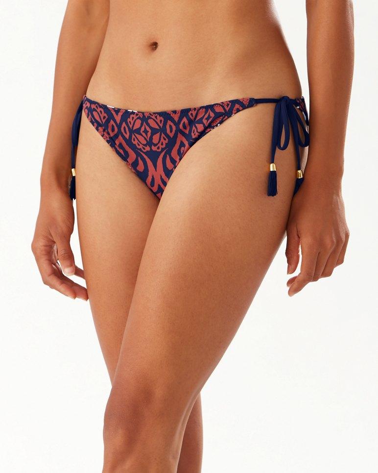 Main Image for Ikat Diamonds Reversible String Bikini Bottoms