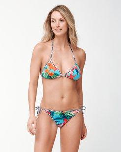 Floriana Reversible Triangle Bikini Top
