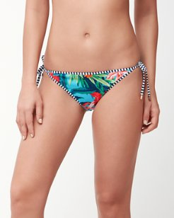 Floriana Reversible String Bikini Bottoms