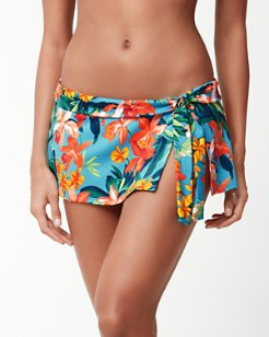 Floriana Skirted Hipster Bikini Bottoms