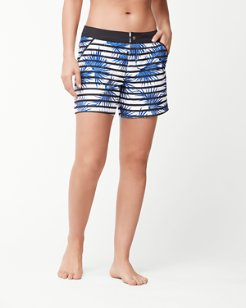 Palmyria Stripe 5-Inch Board Shorts