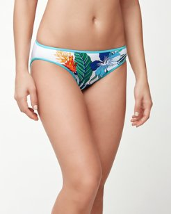 Hibiscus of Paradise Hipster Bikini Bottoms