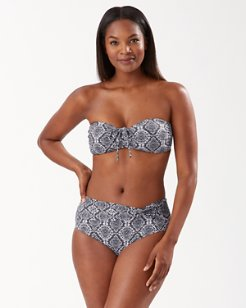 Desert Python Bandeau Bikini Top