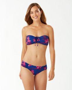 Oasis Blossoms Bandeau Bikini Top