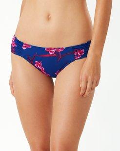 Oasis Blossoms Reversible Hipster Bikini Bottoms