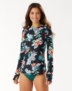 Floral Springs Long-Sleeve Relaxed T-Shirt