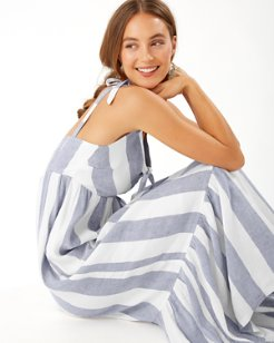 Rugby Beach Stripe Maxi Dress