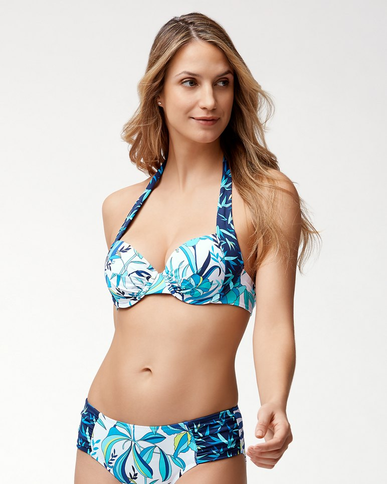 Main Image for Tropical Swirl Underwire Bikini Top