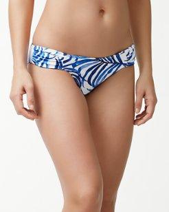 Fuller Fronds Reversible Hipster Bikini Bottoms