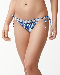 Fuller Fronds Reversible String Bikini Bottoms