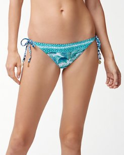 Amongst Fronds Reversible String Bikini Bottoms
