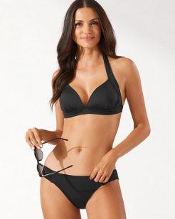 Pearl Halter Bikini Top