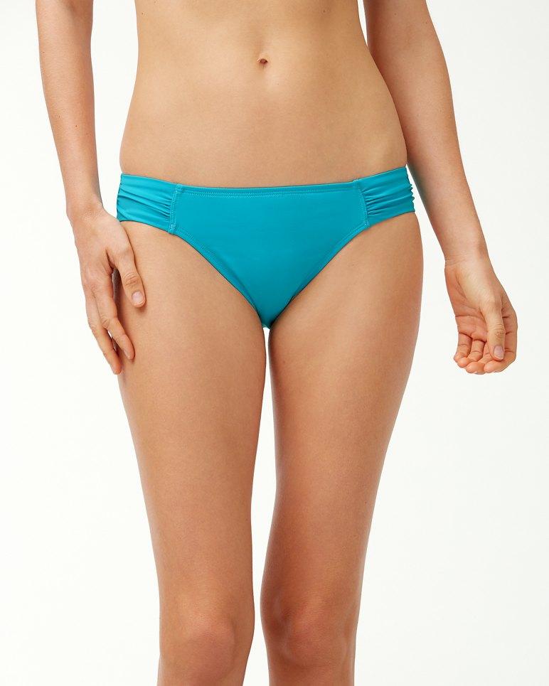 Main Image for Pearl Side-Shirred Hipster Bikini Bottoms