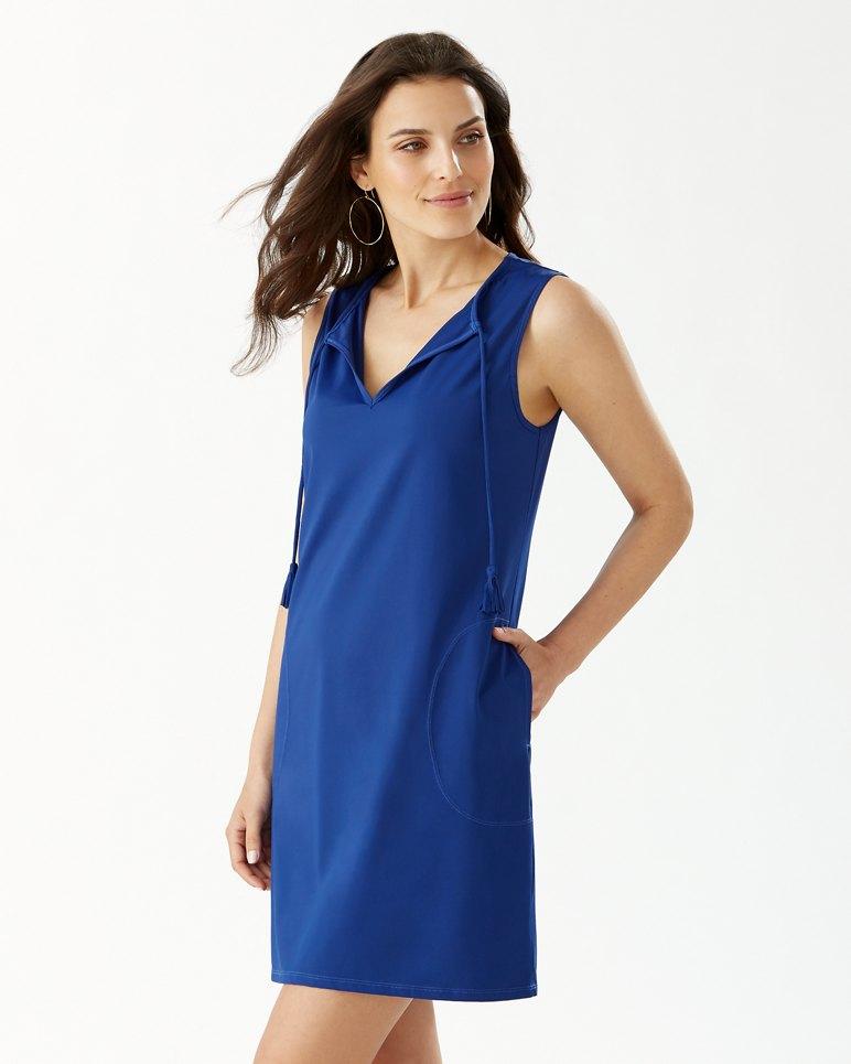 Main Image for Pearl Split-Neck Swim Dress