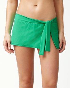 Pearl Skirted Hipster Bikini Bottoms